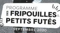 Le programme des fripouilles & petits futés de septembre-octobre est disponible