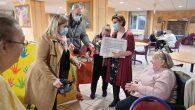 Les enfants des AEPS ont créé pour faire un cadeau à nos séniors…