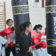 Samedi 19 et mardi 22 juin des filles des AEPS se sont rendu à une initiation de boxe féminine
